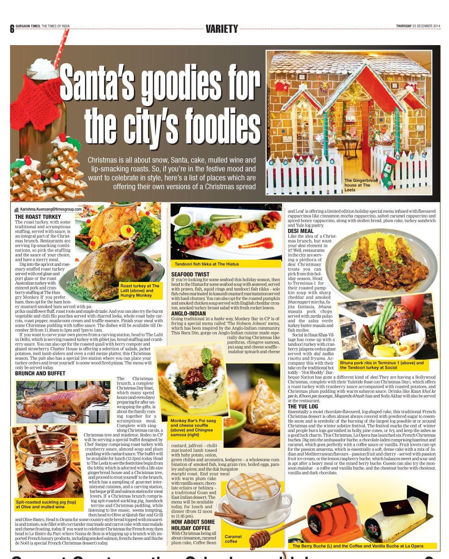 L'opera - Delhi Times ( Noida, Gurgaon)