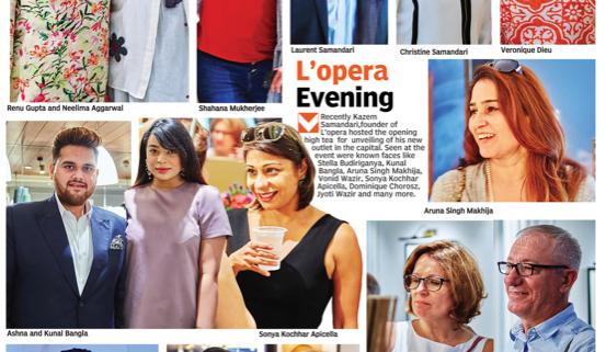 L'Opera launches outlet in GK2